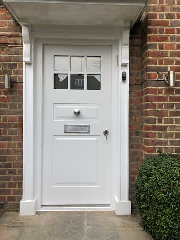 security doors with glass