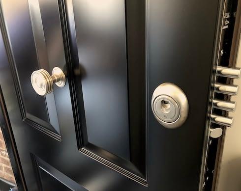 top security doors lock