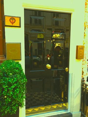 High gloss security doors