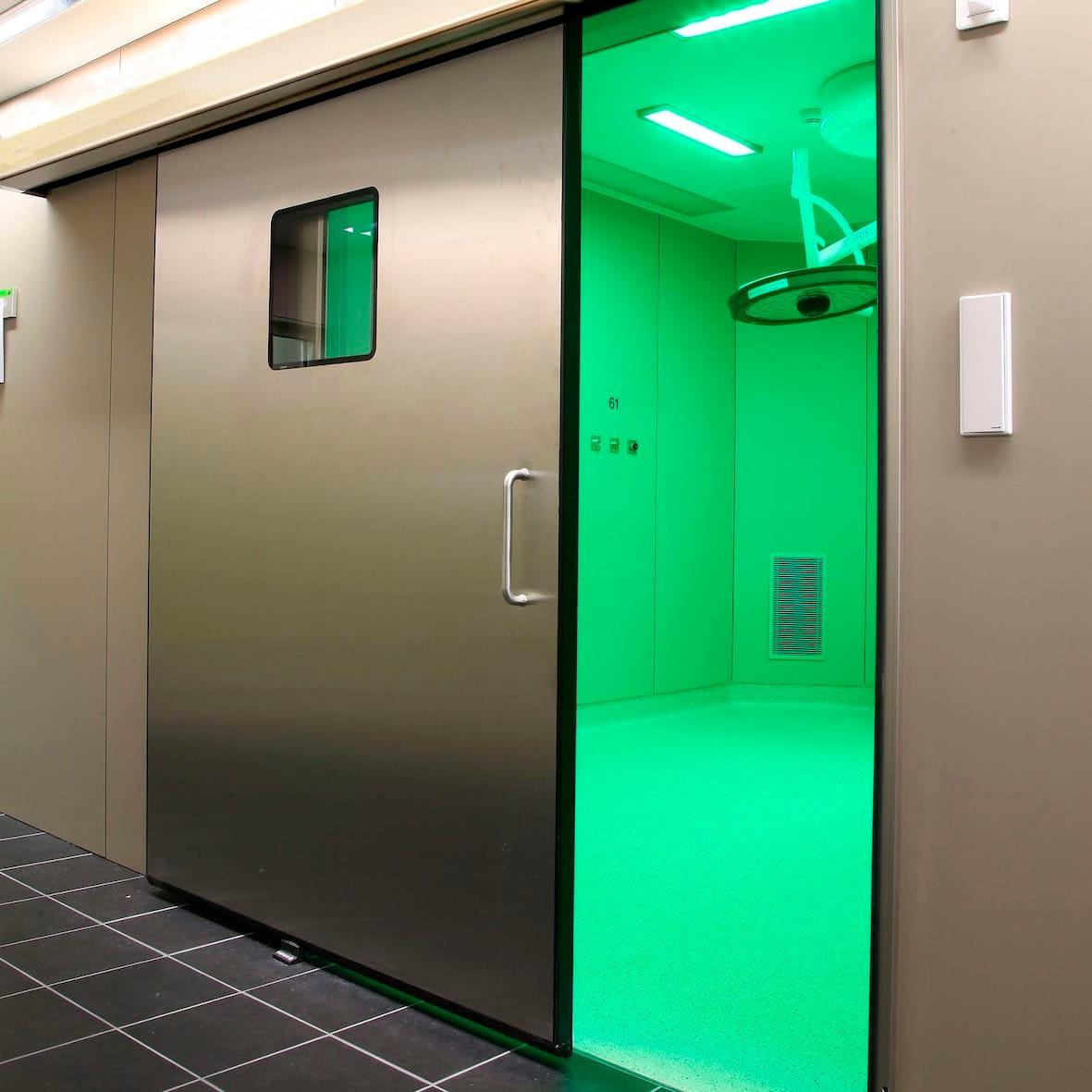 futuristic security doors