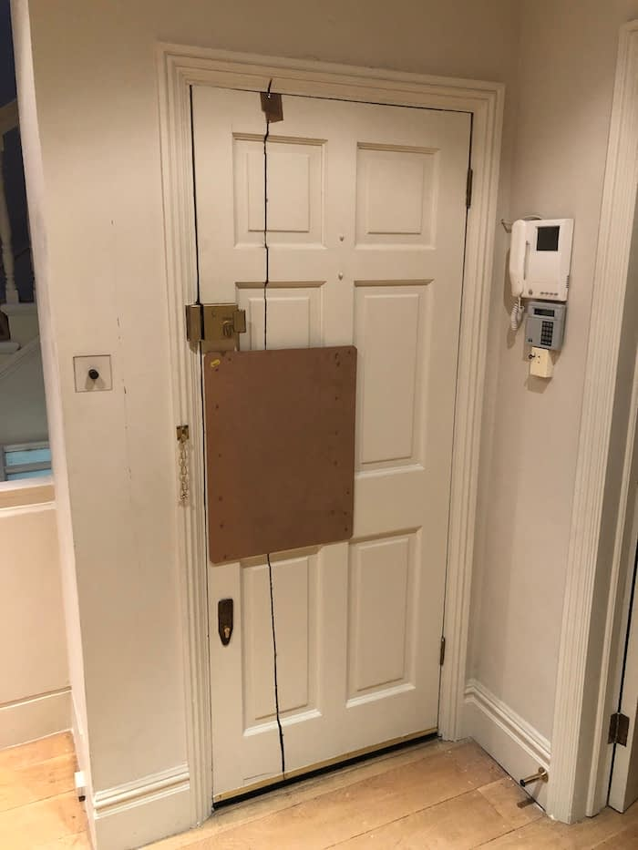 Extra security on your home doors