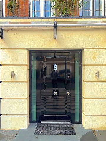 high gloss bullet proof doors