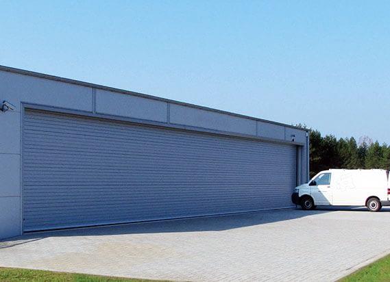 secure garage