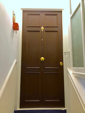 TIMBER CLADED SECURITY DOORS