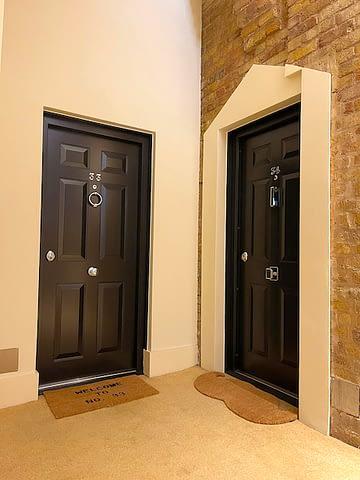 high security flat doors