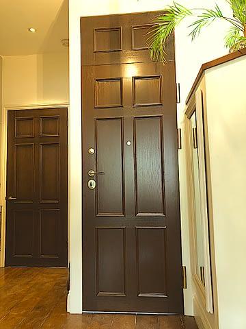 NATURAL TIMBER SECURITY DOORS